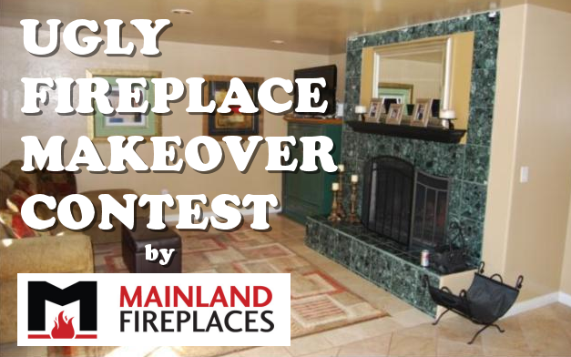 Mainland Fireplace Ugly Fireplace Makeover Contest